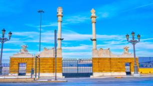 La leyenda de las columnas de Hércules - Cádiz